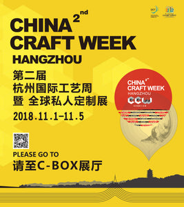 China Craft Week here we come!