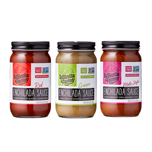 Enchilada Sauces - 3 pack