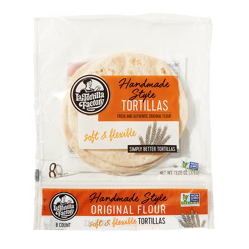 Handmade Style Flour Tortillas - 6 packages