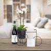 Floral Bliss Gourmet Wine Gift Basket