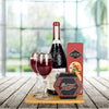 Exquisite Cheese & Wine Gift Basket, wine gift baskets, gourmet gift baskets, gift baskets
