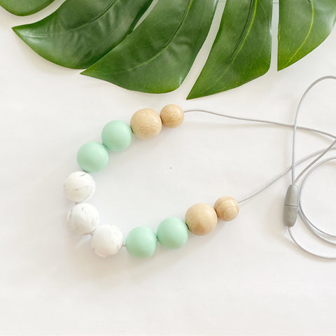 Marble & Mint  Necklace
