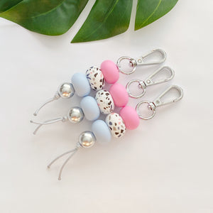 Candy Blue Keyring