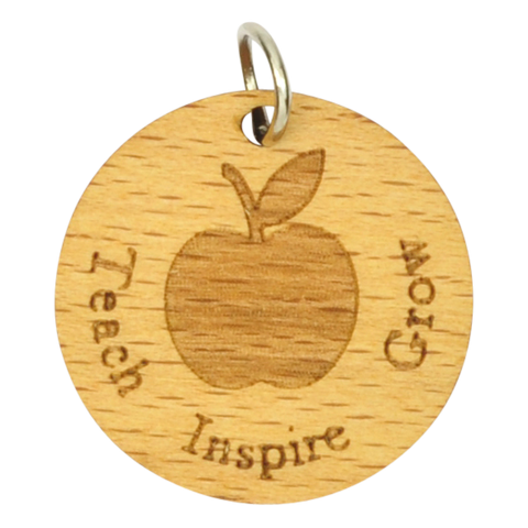 Inspire Wood TEACHER CHARM