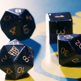 Limited Edition Gem Stone Dice Set