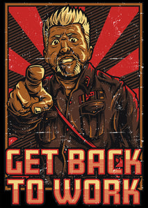 Get Back to Work Poster