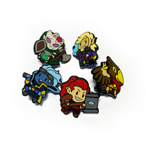 High Rollers Sentry Pin Badge