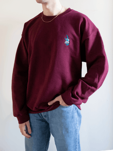 Wilbur Soot Embroidered Computer Sweater