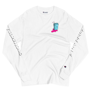 Frizzable Champion Long Sleeve Shirt (White)