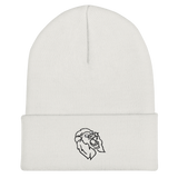 Let's Game It Out Lion Eyes Cuffed Beanie