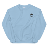 Embroidered Wilbur Soot Whale Sweatshirt