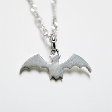 Bat Charm Necklace - One Bad Bat