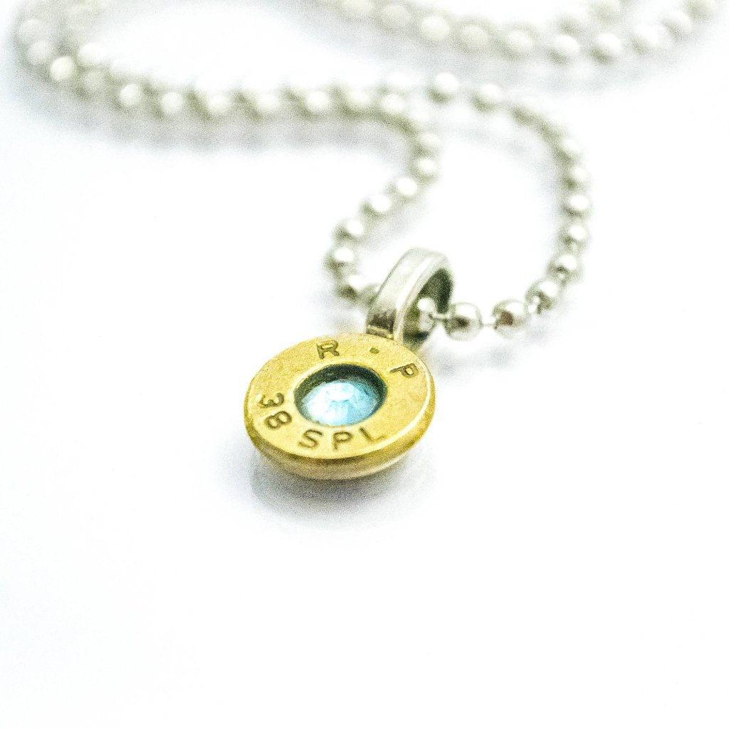 Ammo charm necklace - One Bad Bat
