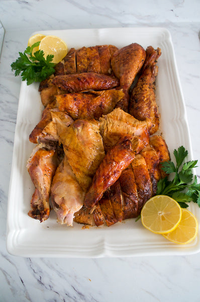 Easy Roasted Turkey with Noubess