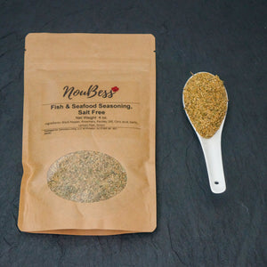 Fish & Seafood Seasoning, salt-free - NouBess