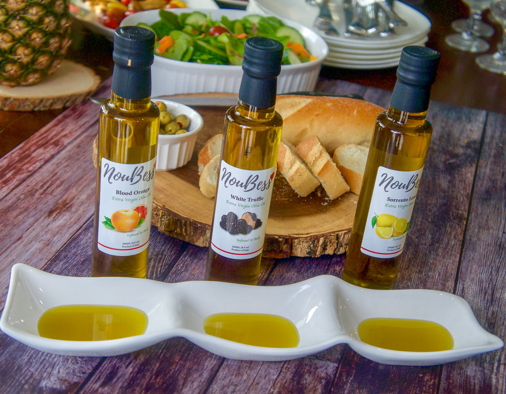 Lemon Infused Extra Virgin Olive Oil - NouBess
