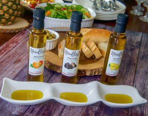 Lemon Natural Flavor Infused Extra Virgin Olive Oil - NouBess