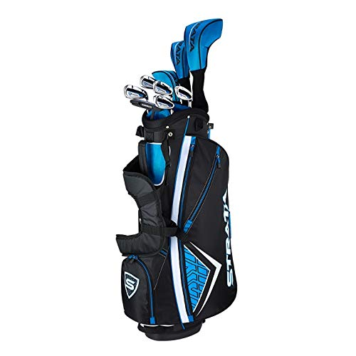 Callaway Golf Men's Strata Complete 12 Piece Package Set (Right Hand, Steel) - Ctfitnesswear