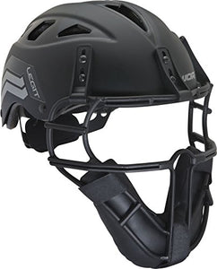 Worth Legit Slowpitch Softball Pitcher's Mask, Black - Ctfitnesswear