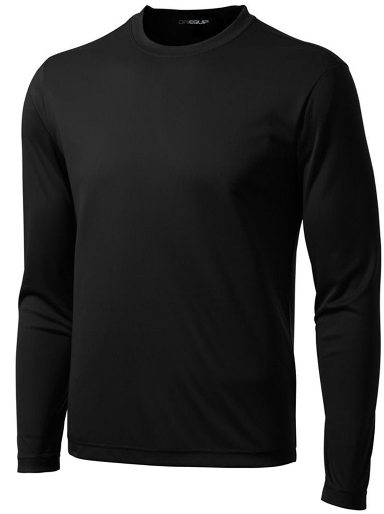 DRI-EQUIP Long Sleeve Moisture Wicking Athletic Shirt-most sizes and other colors available - Ctfitnesswear