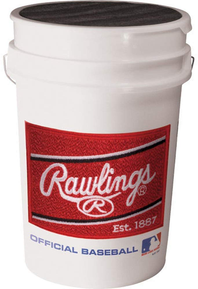 Rawlings Official League Competition Grade Youth Baseballs, Bucket of 30 ROLB1X Balls - Ctfitnesswear