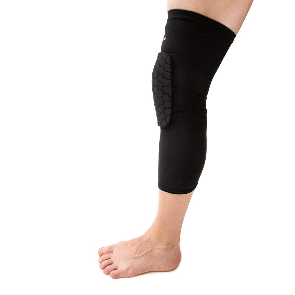 Knee Compression Sleeves: McDavid Hex Knee Pads Compression Leg Sleeve for Basketball, Volleyball, Weightlifting, and More - Pair of Sleeves - Ctfitnesswear
