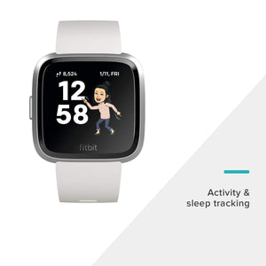 Fitbit Versa Lite Edition Smart Watch, One Size (S & L bands included) - Ctfitnesswear