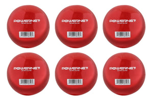 "PowerNet 3.2"" Weighted Hitting Batting Training Balls (6 Pack) 