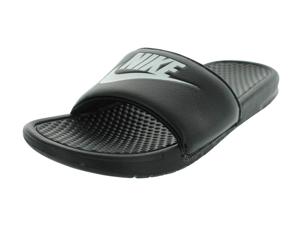 Nike Men's Benassi Just Do It Athletic Sandal, Black/White Noir/Blanc more sizes available - Ctfitnesswear