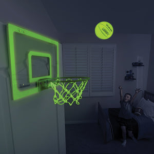SKLZ Pro Mini Basketball Hoop with Ball, Glow in the Dark (18 x 12 inches) - Ctfitnesswear