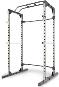 Fitness Reality 810XLT Super Max Power Cage with Optional Lat Pull-down Attachment and Adjustable Leg Hold-down - Ctfitnesswear