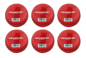 "PowerNet 2.8"" Weighted Hitting Batting Training Balls (6 Pack) 