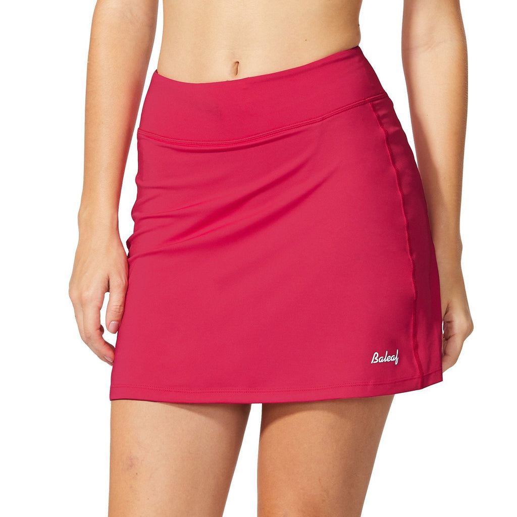 BALEAF Women's Active Athletic Skort Lightweight Skirt with Pockets for Running Tennis Golf Workout - Ctfitnesswear
