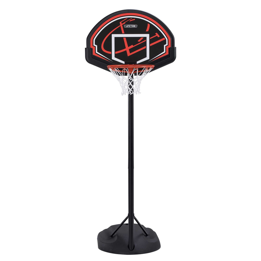 "Lifetime 90022 32"" Youth Portable Basketball Hoop, Red/Black - Ctfitnesswear"