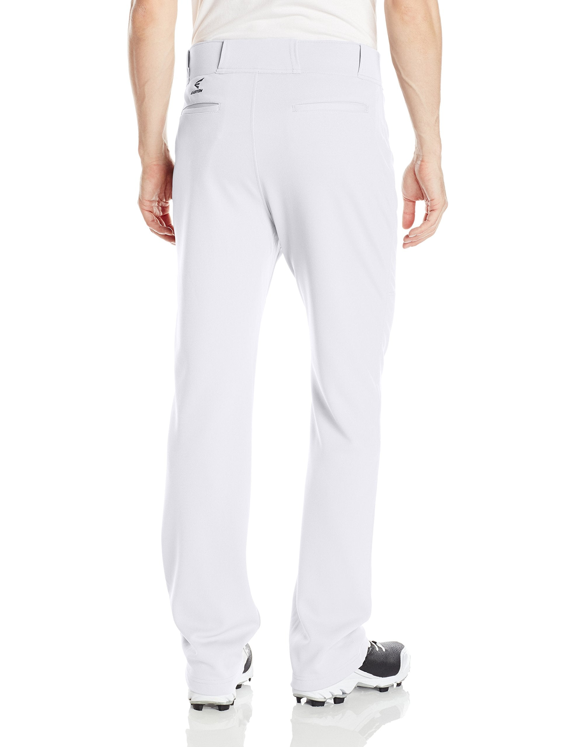 EASTON RIVAL 2 Baseball Softball Pant  | White | 2020 | Double Reinforced Knee | 100% Polyester - Ctfitnesswear