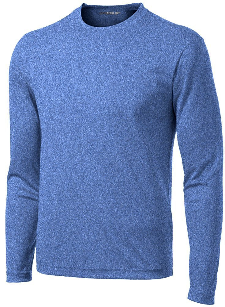DRI-Equip Long Sleeve Moisture Wicking Athletic Shirt - Ctfitnesswear