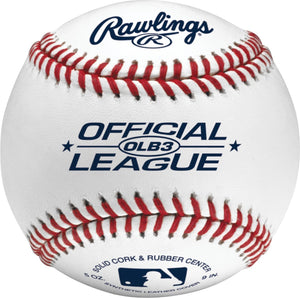 Rawlings Official League Recreational Grade Baseballs, Bucket of 24, OLB3BUCK24 - Ctfitnesswear