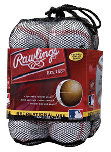 Rawlings Official League Recreational Use Baseballs, Bag of 12, OLB3BAG12 - Ctfitnesswear