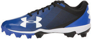 Under Armour Men's Leadoff Low RM Baseball Shoe, Black (001)/Team Royal, most sizes available - Ctfitnesswear