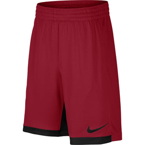 "Nike 8"" Dry Short Trophy, Dri-FIT Boys' training shorts, Athletic shorts, Gym Red/Black/Black(click for sizes) - Ctfitnesswear"