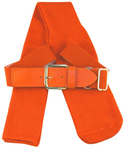 TCK Sports Youth Baseball Socks and Belt Combo Set (Orange,) other colors available - Ctfitnesswear
