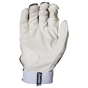Franklin Sports MLB Digitek Baseball Batting Gloves - Gray/White/Black Digi - Ctfitnesswear