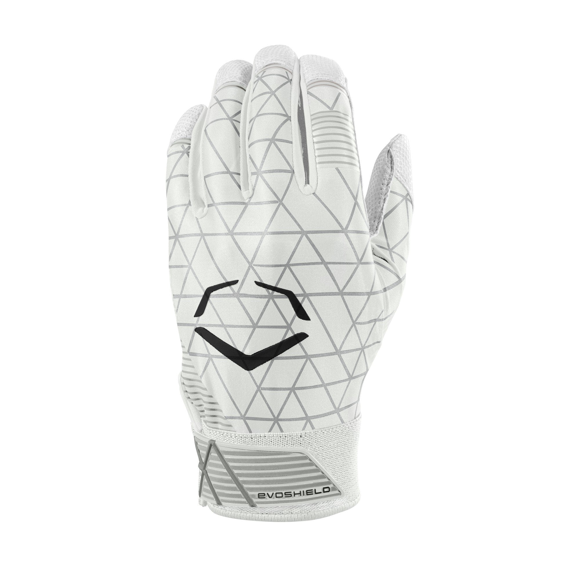 EvoShield EvoCharge Protective Batting Gloves - Youth Small, White - Ctfitnesswear