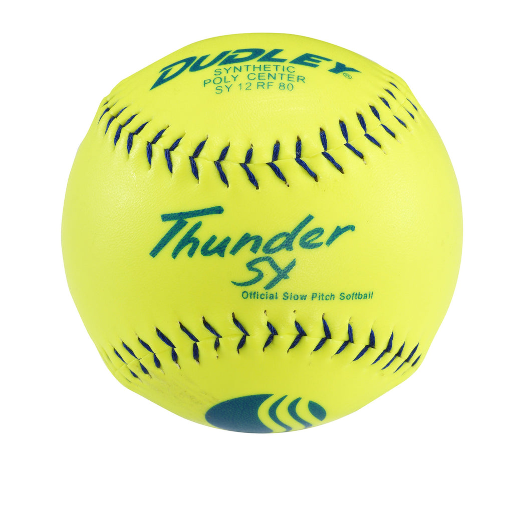 Dudley USSSA Thunder SY Slow Pitch Synthetic Soft Ball - Dozen - Ctfitnesswear