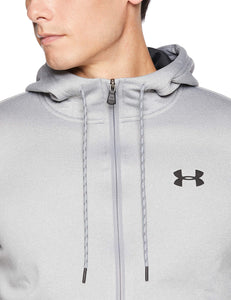 Under Armour Men's Armour Fleece Full Zip Hoodie, Steel Light Heather (035)more colors and sizes available - Ctfitnesswear