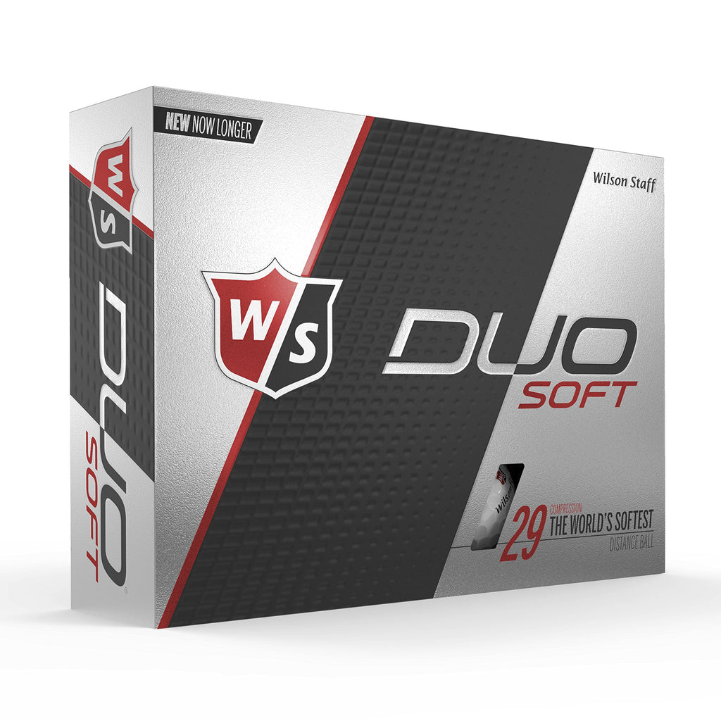 Wilson Staff Duo Soft Golf Balls, White - Ctfitnesswear