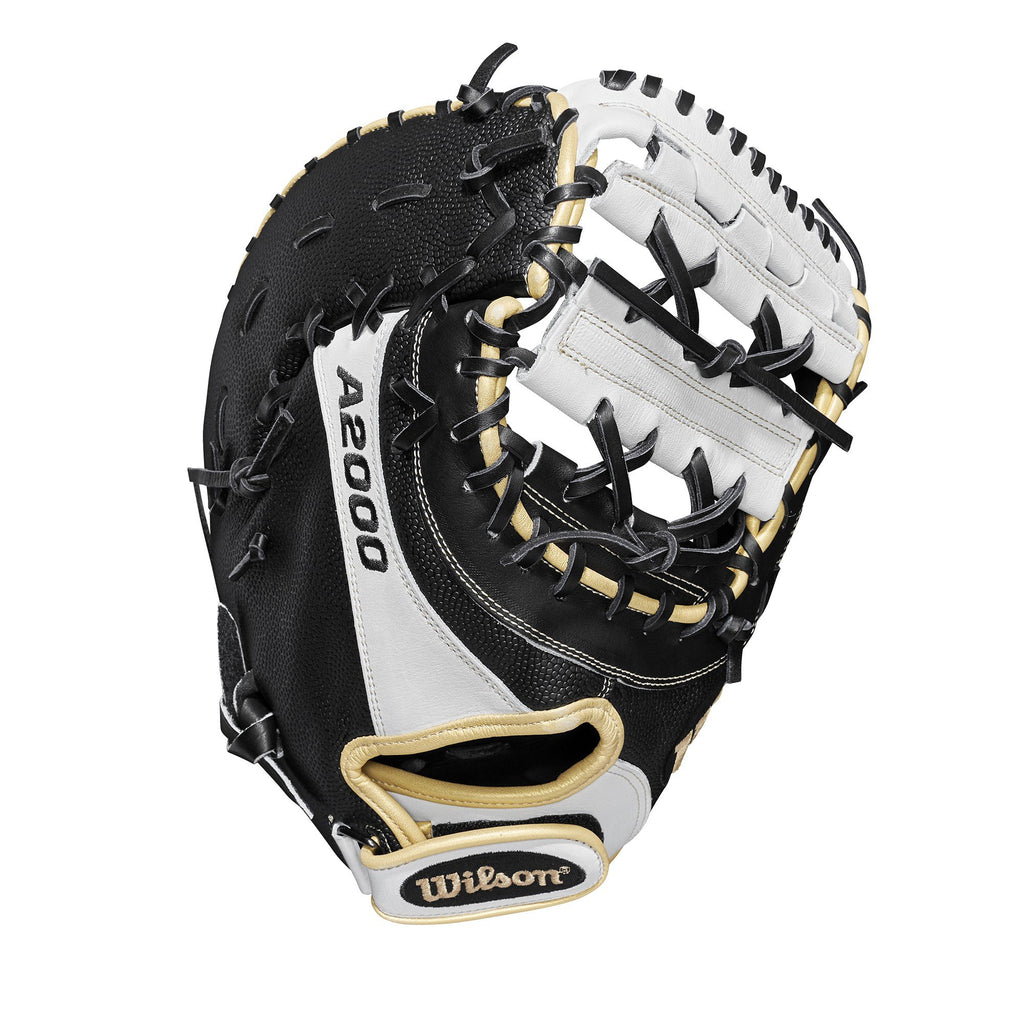 "Wilson A2000 FP1B SuperSkin 12"" First Base Fastpitch Mitt - Right Hand Throw - Ctfitnesswear"