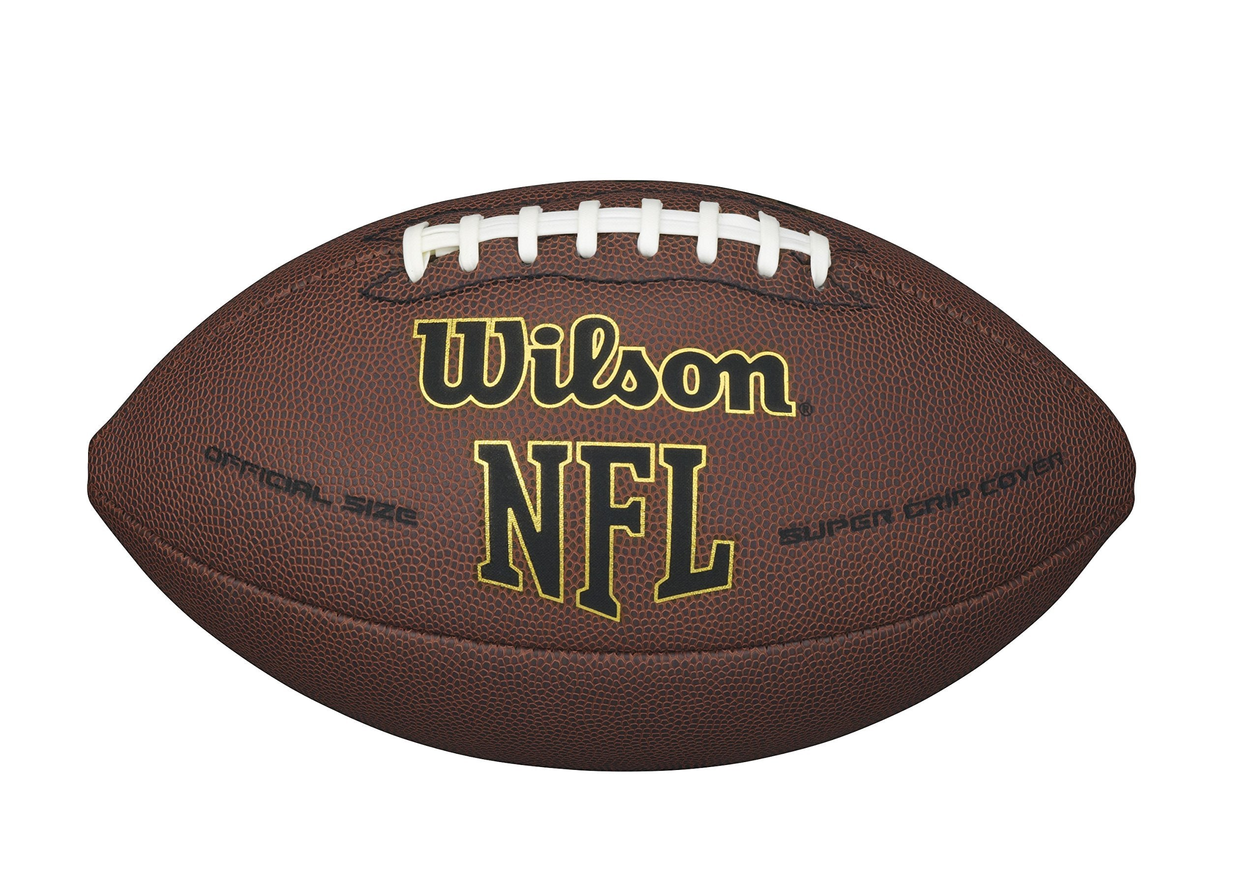 Wilson NFL Super Grip Official Football - Ctfitnesswear