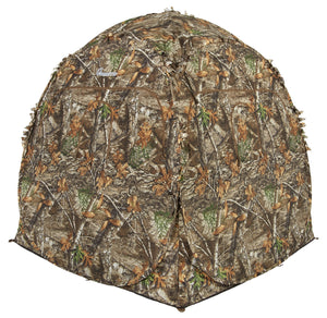 Ameristep Doghouse Ground Blind, Two Man Hunting Blind in Realtree Edge Camo - Ctfitnesswear