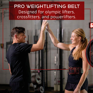 Medium Weight Lifting Belt Powerlifting Belt with Lifting Equipment Weightlifting - Ctfitnesswear